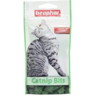 Лакомство за котки BEAPHAR CATNIP BITS котешка трева, 150 g