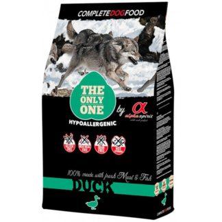 Суха храна ALPHA SPIRIT THE ONLY ONE DUCK за кучета над 12 м, 3 kg