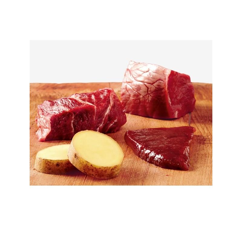 Консерва GRANCARNO SENSITIV ADULT PURE BEEF AND POTATOES монопротеин говеждо с картофи, 400 g