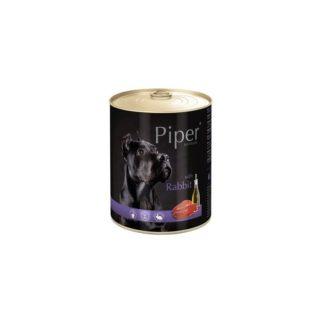 Консерва PIPER ADULT RABBIT за кучета над 12 м. със заек, 800 g