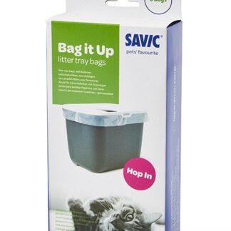 Тобрички за котешка тоалетна SAVIC BAG IT UP подходящи за Hop In, 6 бр