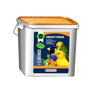Енергийна храна за канари, финки, вълнисти и др. малки папагали VERSELE LAGA OROLUX FRUTTI PATEE със сушени плодове и мед, 5 kg