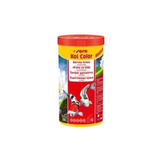 Оцветяваща храна за кои до 25 см SERA KOI COLOR MEDIUM, 1000 ml