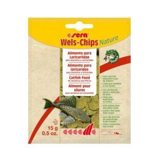 Храна SERA VIPACHIPS SERA WELS-CHIPS NATURE чипс за сомчета, 15 g