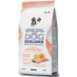 Суха храна SPECIAL DOG EXCELLENCE ALL BREEDS MONOPROTEIN SALMON за всички породи над 12 м, сьомга, 3 kg