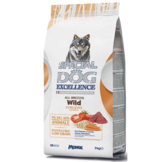 Суха храна SPECIAL DOG EXCELLENCE WILD OSTRICH за всички породи над 12 м, щраус, 2 kg