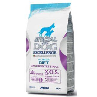 Суха храна SPECIAL DOG EXCELLENCE DIET GASTROINTESTINAL диета при нарушено храносмилане, 2 kg