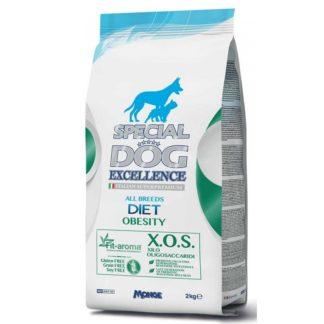 Суха храна SPECIAL DOG EXCELLENCE DIET OBESITY диета при наднормено тегло, 2 kg