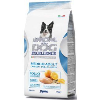 Суха храна SPECIAL DOG EXCELLENCE MEDIUM ADULT CHICKEN за средни породи над 12 м, пиле, 12 kg