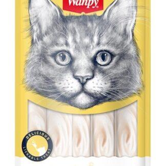 Кремообразно лакомство за котки WANPY CREAMY CHICKEN, пиле, 5 x 14 g