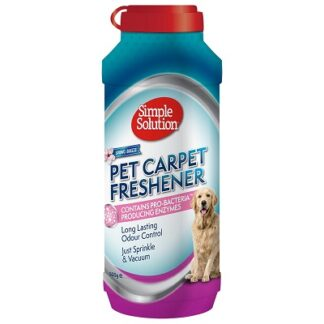 Пудра за килими SIMPLE SOLUTION CARPET FRESHENER, 500 g
