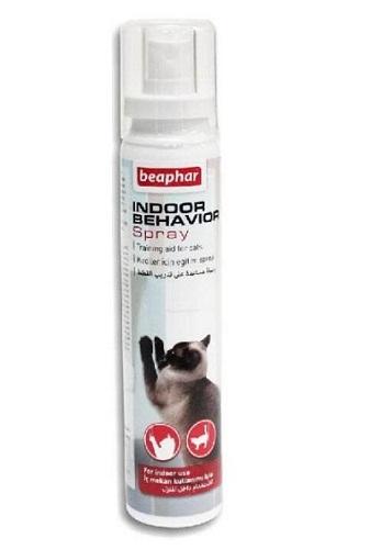 Отблъскващ спрей за котки BEAPHAR INDOOR CAT BEHAVIOR SPRAY, 125 ml