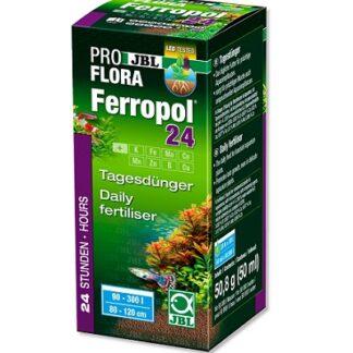 Tор за сладководни аквариуми за ежедневна употреба JBL PROFLORA FERROPOL 24, 10 ml