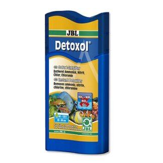 Препарат премахващ токсини в сладководни и морски аквариуми JBL DETOXOL