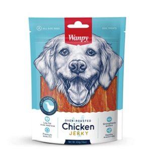 Лакомство WANPY CHICKEN JERKY пилешко филе, 454 g