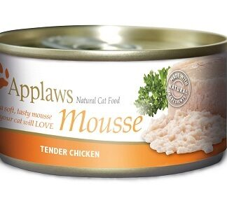 Консерва APPLAWS MOUSSE CHICKEN фин пастет пиле, за котки над 1 г, 70 g
