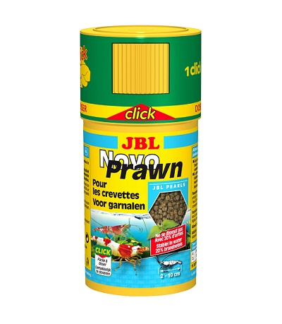 Храна за скариди на гранули JBL NOVOPRAWN CLICK (с дозатор), 100 ml
