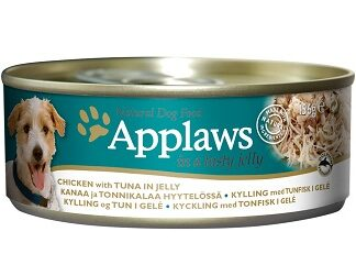 Консерва APPLAWS CHICKEN WITH TUNA IN JELLY пиле и риба тон в желе, 156 g