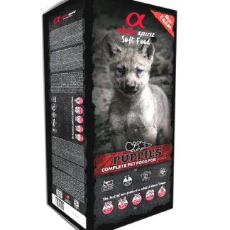 Полусуха храна ALPHA SPIRIT PUPPIES SEMI-MOIST COPMPLETE, 45 дози x 210 g, за кучета до 1 г. от всички породи, 9,5 kg