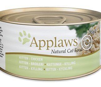 Консерва APPLAWS KITTEN CHICKEN пиле, за котенца до 1 г, 70 g