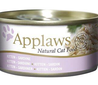 Консерва APPLAWS KITTEN SARDINE сардина, за котенца до 1 г, 70 g