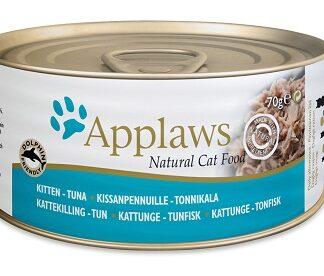 Консерва APPLAWS KITTEN TUNA риба тон, за котенца до 1 г, 70 g