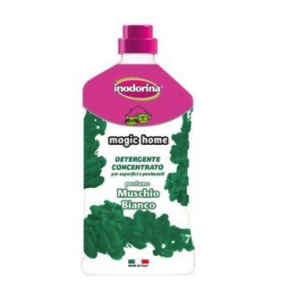 Препарат за почистване и дезинфекция INODORINA MAGIC HOME WHITE MUSK аромат бял мускус, 1 l
