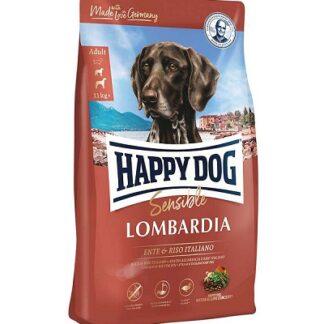 Суха храна HAPPY DOG SUPREME SENSIBLE LOMBARDIA за чувствителни кучета средни и едри породи с патица