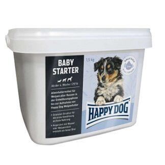 Суха храна HAPPY DOG BABY STARTER LAMB & RICE за захранване кученца от 4 до 6 седмица, агне с ориз, 1.5 kg