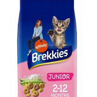 Суха храна BREKKIES CAT JUNIOR котенца до 12 м, 20 kg