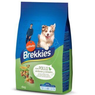 Суха храна BREKKIES DOG MIX CHICKEN за кучета над 12 м, пиле 20 kg