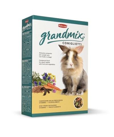 Храна за зайци PADOVAN GRANDMIX CONIGLIETTI, 850 g