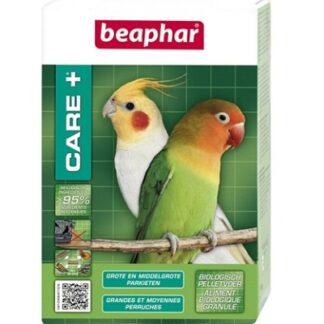 Храна за средни и големи папагали BEAPHAR CARE+ MEDIUM AND LARGE-SIZED PARAKEETS, 500 g