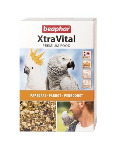 Храна за големи папагали BEAPHAR XTRAVITAL PARROT FEED, 1 kg