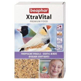 Храна за тропически птици и финки BEAPHAR XTRAVITAL TROPICAL BIRD FEED, 500 g