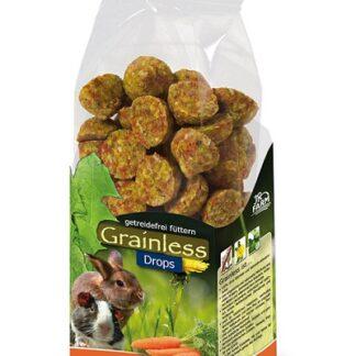 Лакомство за гризачи JR GRAINLESS CARROT DROPS, дропс моркови, 140 g