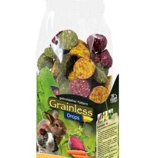 Лакомство за гризачи JR GRAINLESS MIXED DROPS, дропс микс, 140 g