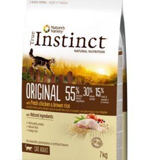 Суха храна TRUE INSTINCT ORIGINAL CAT CHICKEN за котки над 12 м, пиле, 7 kg