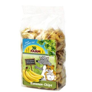 Лакомство за гризачи JR FARM BANANA SLICES, бананови резенчета, 150 g