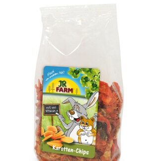 Лакомство за гризачи JR FARM CARROT SLICES, морковени резенчета, 150 g
