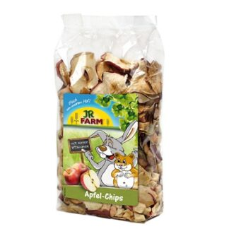 Лакомство за гризачи JR FARM APPLE SLICES, ябълкови резенчета, 100 g