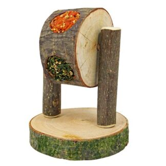 Играчка лакомство за гризачи JR FARM FEEDING PLAY WHEEL, 200 g