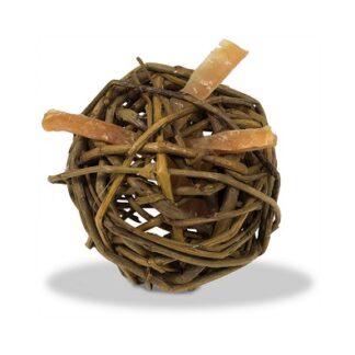 Лакомство играчка за котки JR FARM NATURE BALL върбови топки с пълнеж