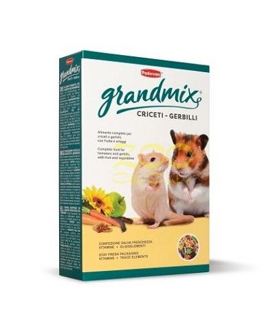 Храна за хамстери и джербили PADOVAN GRANDMIX CRICETI E GERBILLI, 400 g