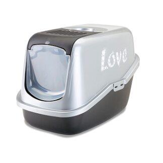 Закрита котешка тоалетна Savic NESTOR LOVE