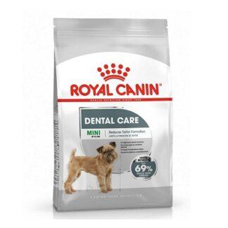 Суха храна ROYAL CANIN MINI DENTAL CARE за кучета дребни породи над 10 м, с чувствителни зъби