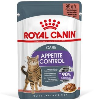 Пауч ROYAL CANIN CARE APPETITE CONTROL контрол на тегло, кастрирани котки над 12 м, 85 g