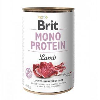Консерва BRIT MONO PROTEIN LAMB за кучета над 12 м, монопротеин агне, 6 x 400 g